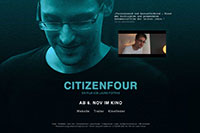Webdesign Berlin - CITIZENFOUR. Ein Film von Laura Poitras